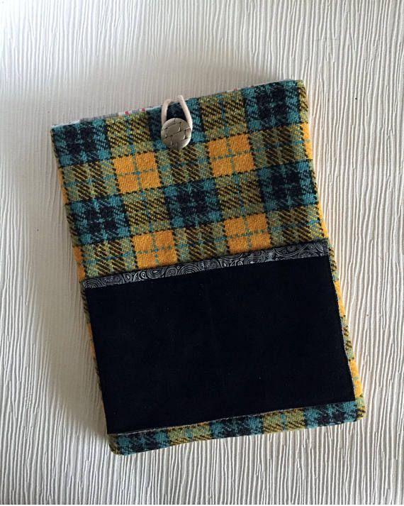 Tablet Case Harris Tweed  iPad sleeve Soft tablet case #ipadcover #tabletsleeve #giftideas