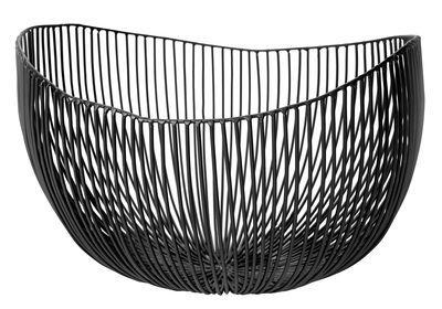 Scopri Cesto Tale -/ L 31 cm, Nero - L 31 cm di Serax disponibile su Made In Design Italia il miglior sito online di design.
