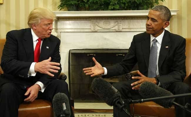Trump meets with Obama at the White House as whirlwind transition starts, president obama, donald trump, 2016 campaign, white house, meeting, josh earnest