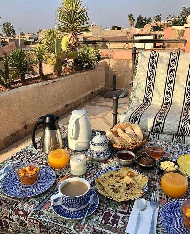 """Résultat de recherche d'images pour """"breakfast marrakech"""""""