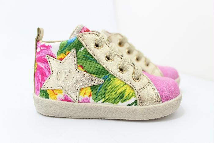 Falcotto eerste loopschoentjes #falcotto #kinderschoenen #flower #summer #kids