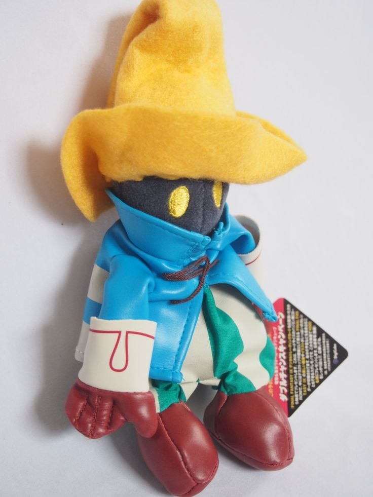 Final Fantasy Vivi Ornitier Novelty Plush Doll $40