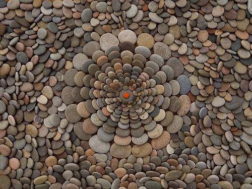 Stones In A Circle Art Design