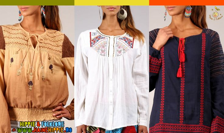 ॐ Modele Ethnic Chic la Haine Hippie! :) www.hainehippie.ro/60-bluze-ii-camasi?p=2