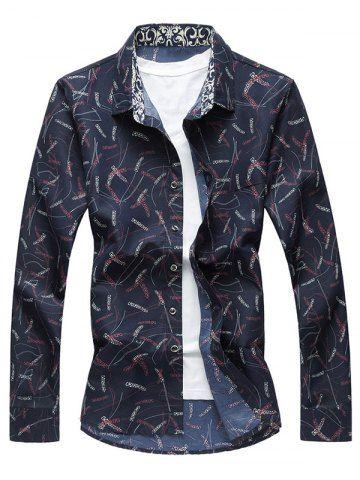 GET $50 NOW | Join RoseGal: Get YOUR $50 NOW!http://www.rosegal.com/mens-shirt/plant-print-long-sleeve-shirt-1050756.html?seid=8068946rg1050756