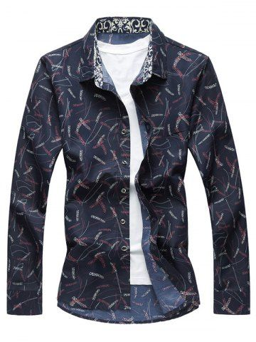 GET $50 NOW | Join RoseGal: Get YOUR $50 NOW!http://www.rosegal.com/mens-shirt/plant-print-long-sleeve-shirt-1050756.html?seid=8068946rg1050756