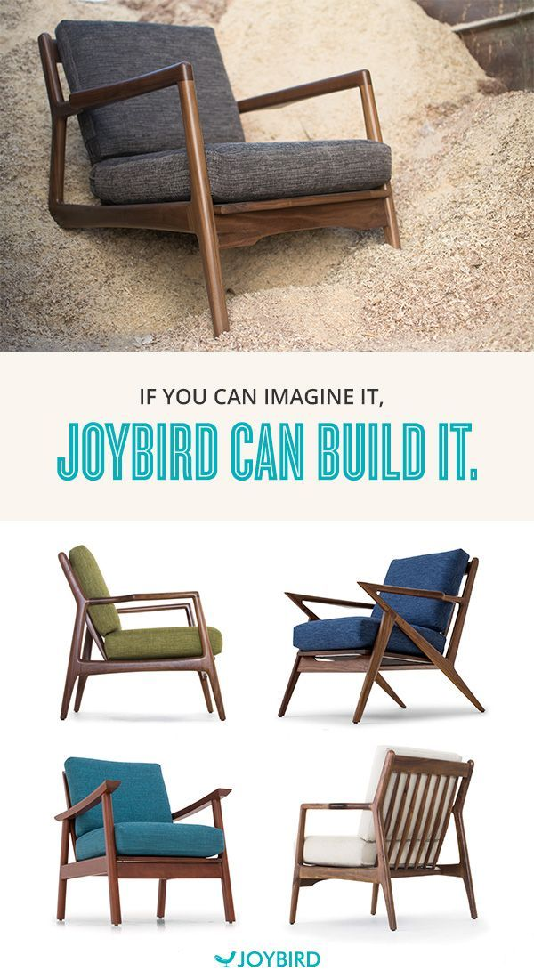 At Joybird we like to do things a little differently. We believe that furniture should be made to fit you and your lifestyle. With Joybird, you choose the color, the fabric and the wood and our talented team of artisan furniture makers transform your vision into a unique, timeless piece of furniture. Shop furniture handmade the exactly how you want it at Joybird.com.