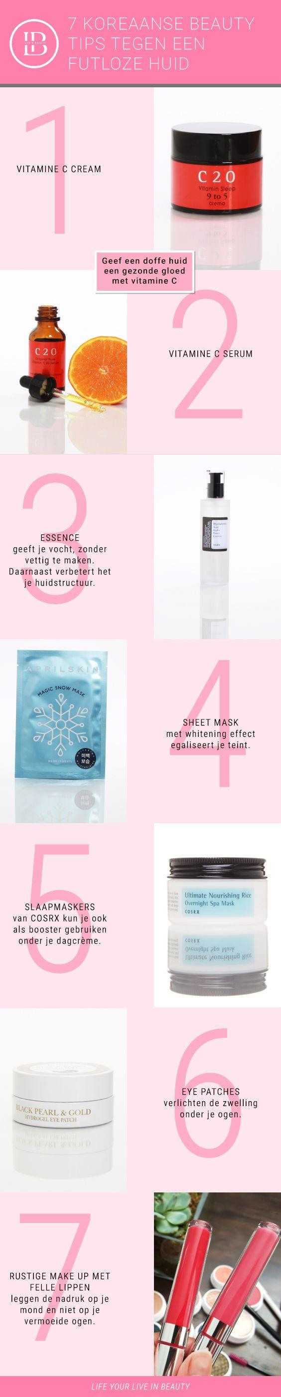 Koreaanse Beauty Tips tegen een vermoeide huid. #lifeandbeautyshop