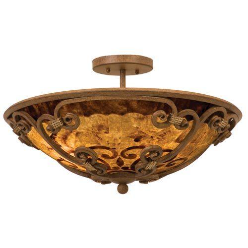 Flush and semi flush ceiling lighting at bellacor