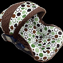This woman has super cute and super cheap car seat covers!
