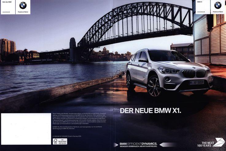 https://flic.kr/p/PtfiXQ | BMW X1. Der neue; 2016, 2015_1