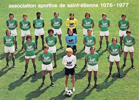 A.S SAINT-ETIENNE 1976-77.