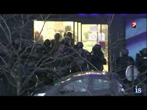 Assaut Porte de Vincennes(le terroriste ses jeter sur le RAID) image plu...