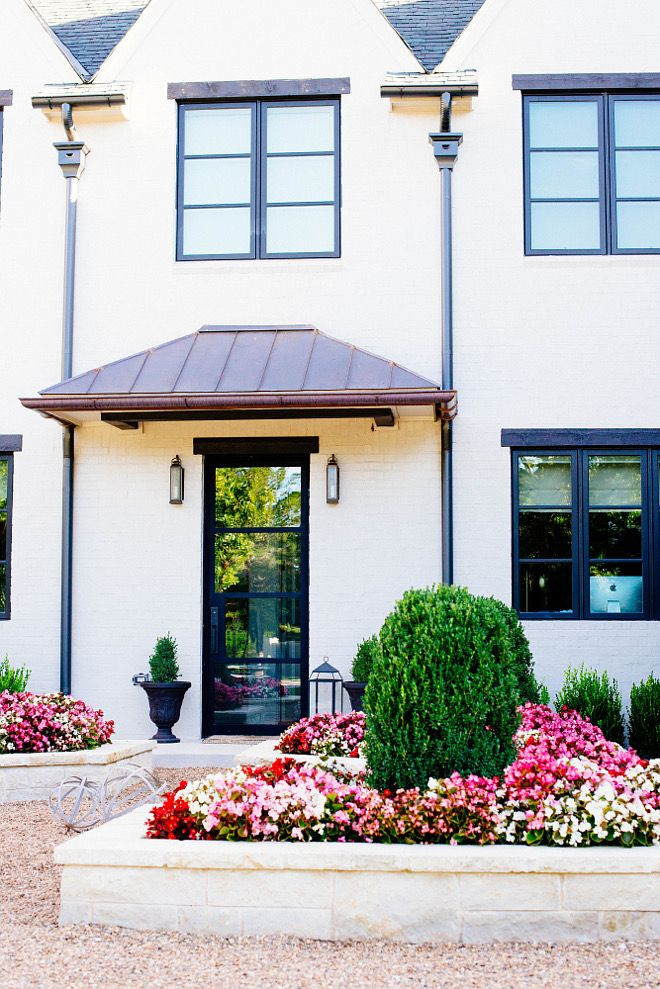 Painted exterior brick paint color sherwin williams sw for Sherwin williams white exterior paint