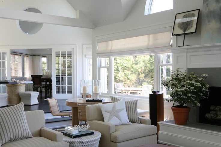 26 best images about window dressing ideas on pinterest for Hamptons style window treatments