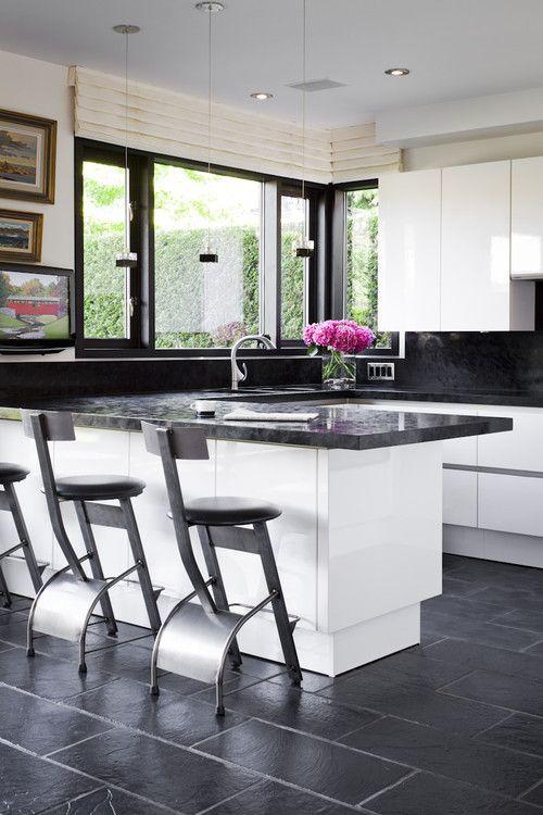 84 best tiles and bathroom images on Pinterest Bathroom ideas - kitchen floor tiles ideas