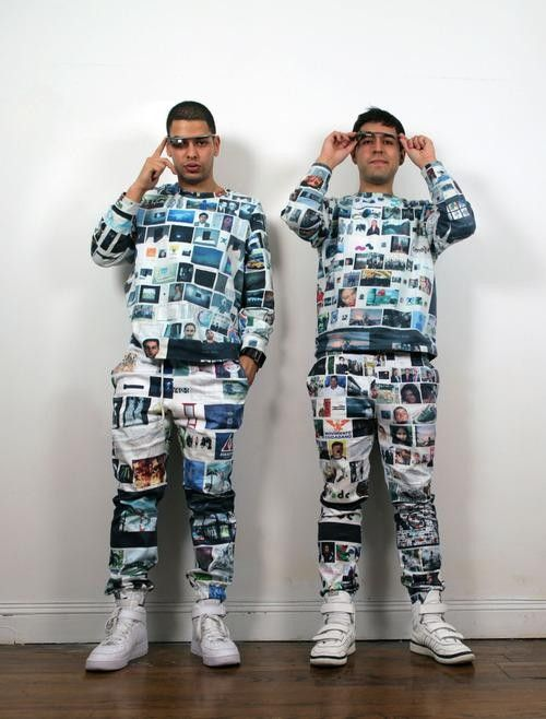 Print your own google image search onto clothing!
