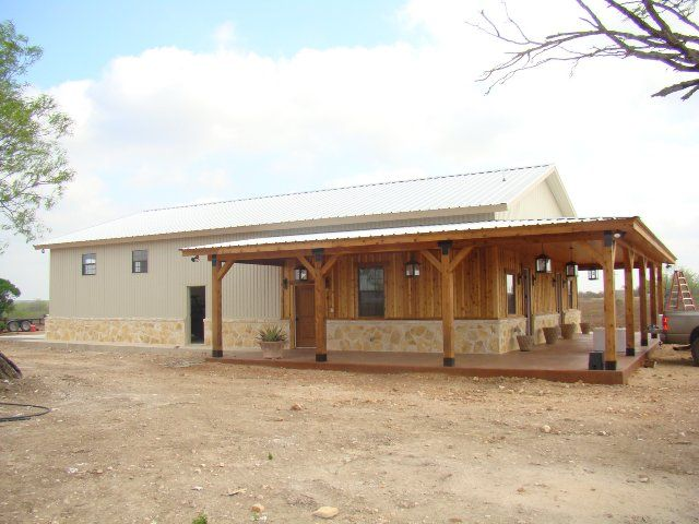Our portfolio of metal buildings homes ranches and more for Metal shop home plans