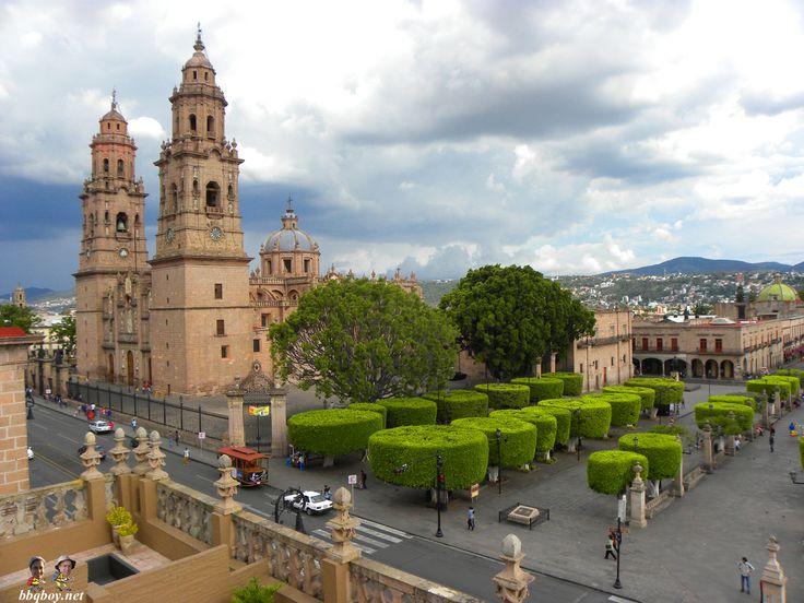 Morelia Cathedral, Mexico.