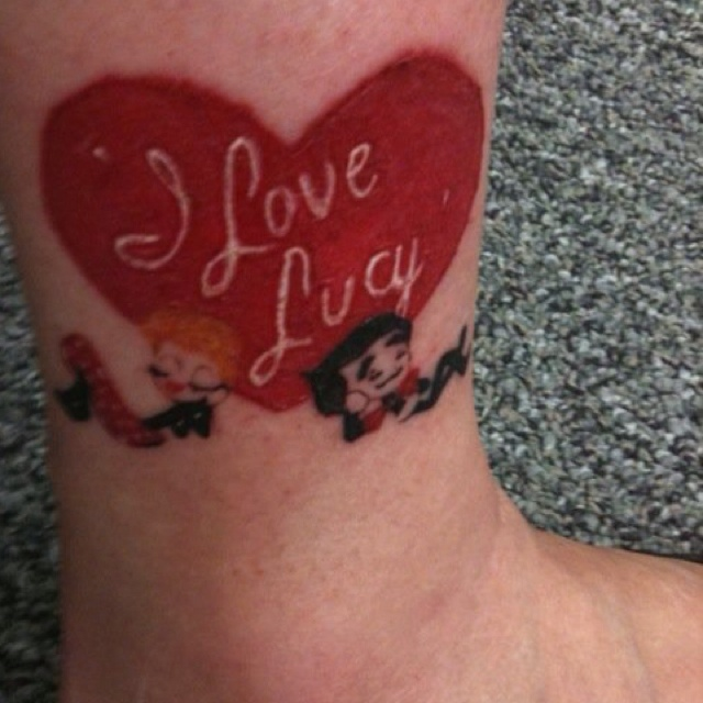 12 best images about i love lucy on pinterest traditional ankle tattoos and ceramics. Black Bedroom Furniture Sets. Home Design Ideas