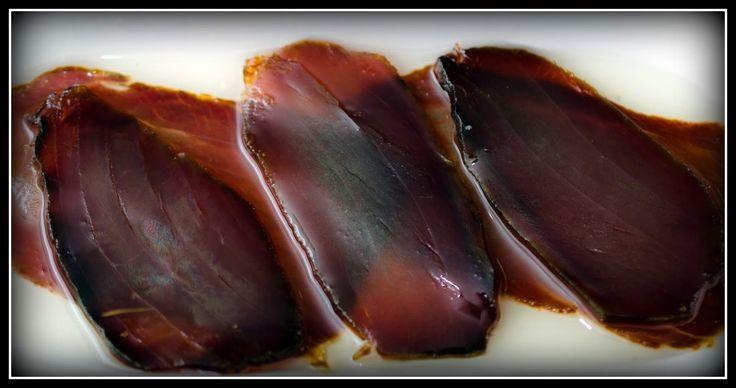 La Cuina i el Menjar Alacantí: La Mojama.