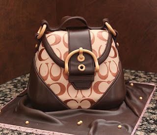 Coach Purse cake- if you know me, you also know I have no words ;)