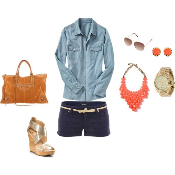 Summer Chic, created by greenamyd on Polyvore