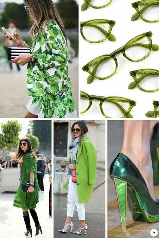 Kolor roku 2017 - Greenery. Pantone.