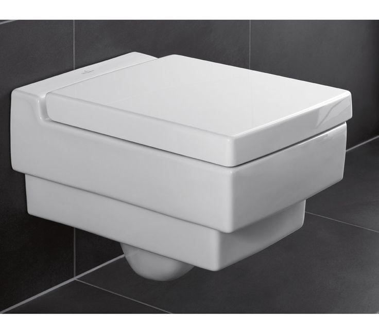 56281001 Villeroy & Boch  V&B Memento Vegghengt Toalett 375x560 mm, Alpinhvit