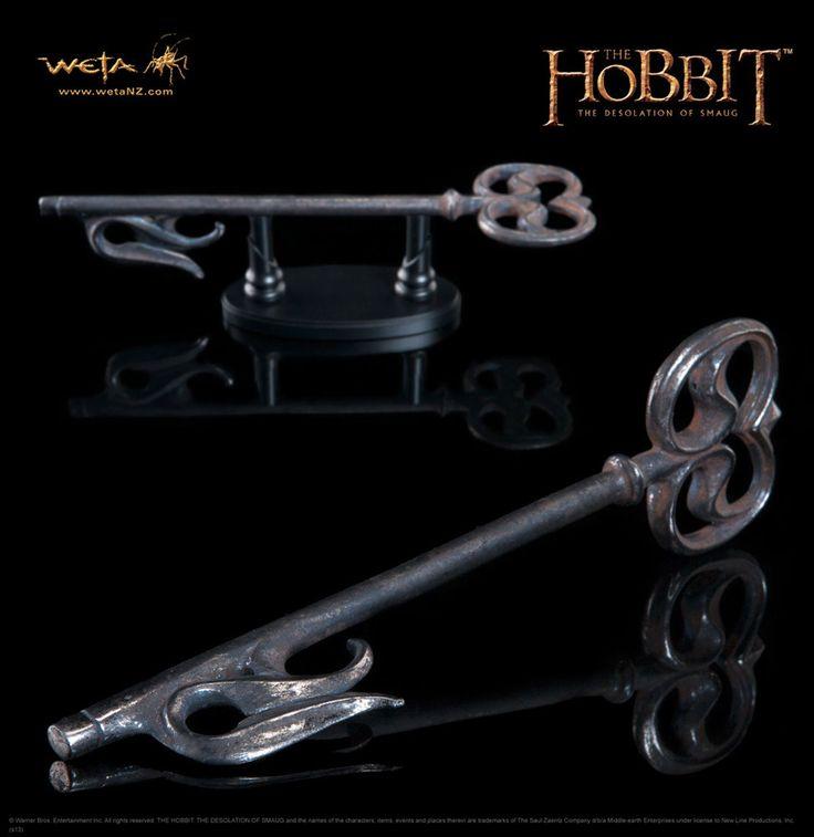 Der Hobbit Smaugs Einöde Replik 1/1 Schlüssel zum Düsterwald 19 cm Der Hobbit Special - Hadesflamme - Merchandise - Onlineshop für alles was das (Fan) Herz begehrt!