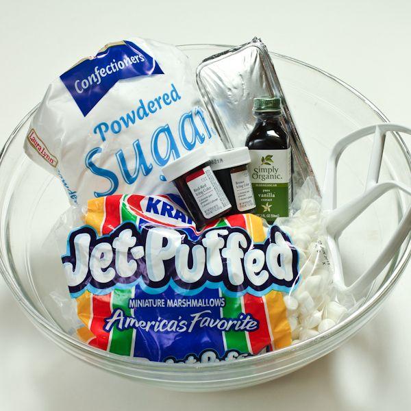 Marshmallow fondant - so need this for birthday cakes