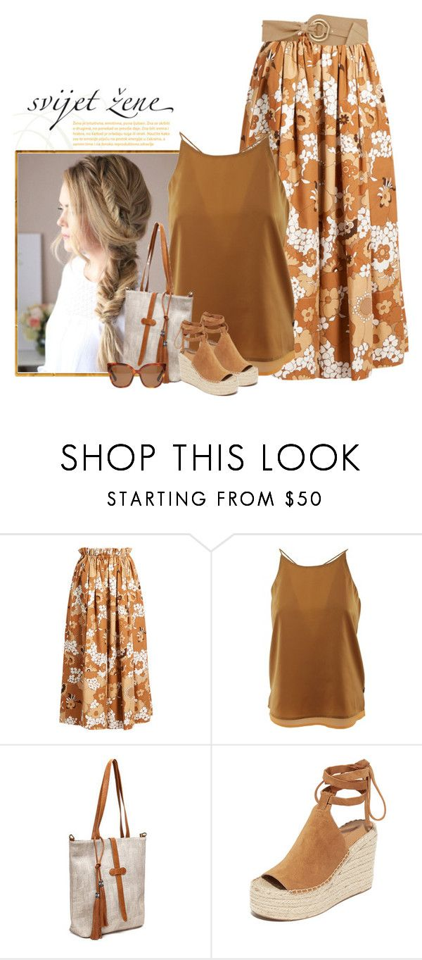 """""""Untitled #2711"""" by gilce-klain ❤ liked on Polyvore featuring beauty, Chloé, Scotch & Soda, Dumond, Sigerson Morrison and Gucci"""