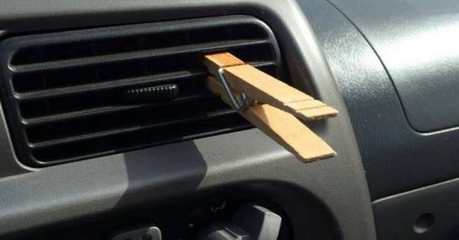 Creative Ideas - DIY Easy Air Freshener With A Clothespin #tips