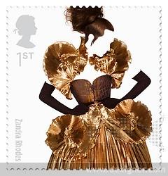 Royal Mail Great British Fashion Stamps