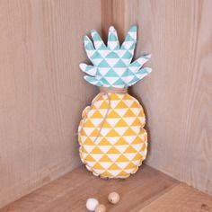 Coussin ananas de décoration