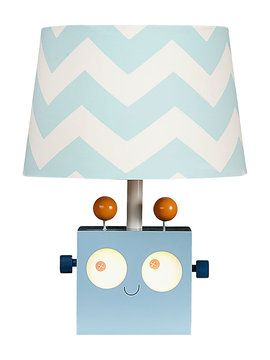 Robot Lamp Base from Just for Toddlers: Furniture & More Feat. P'kolino on Gilt