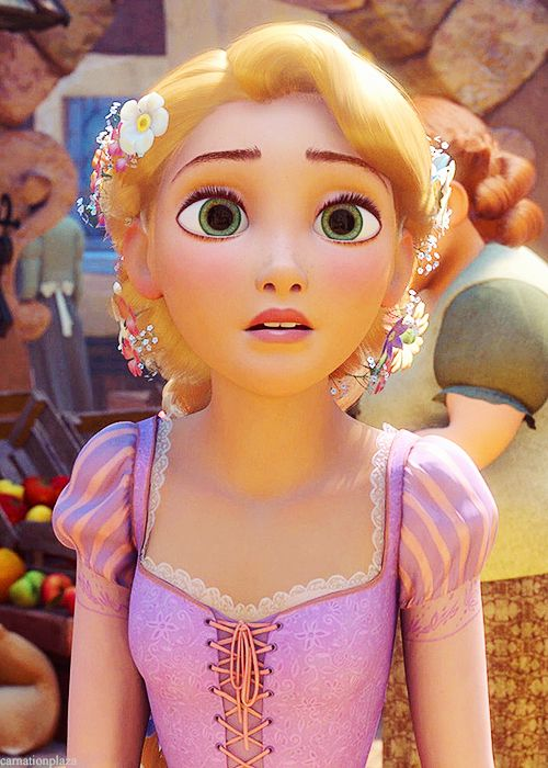 Tangled   Rapunzel in town   Enredados   Rapunzel en el pueblo   @dgiiirls