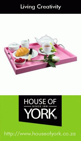 We have colourful trays available from only R249.95. Our pink one is absolutely perfect to serve your mom breakfast on this Mother's Day next month! #mothersday #breakfasttray #pink#HouseofYork