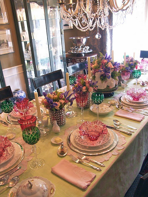 Beautiful!: Easter Finery, Table Settings, Holiday Ideas, Tablesetting Entertaining, Easter Tablescapes, Entertaining Women, Easter Iv