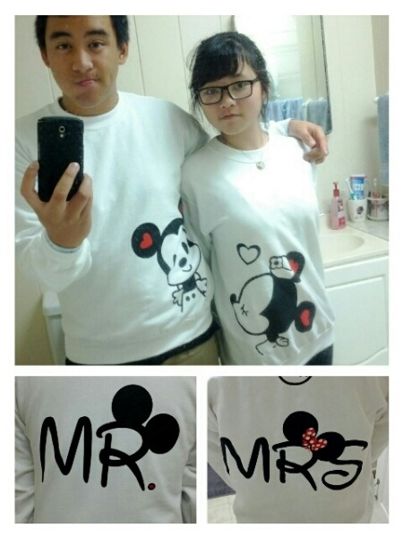 Cute disney shirts for couples