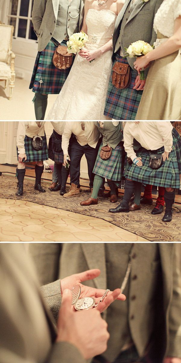 Ushers - like the green socks?
