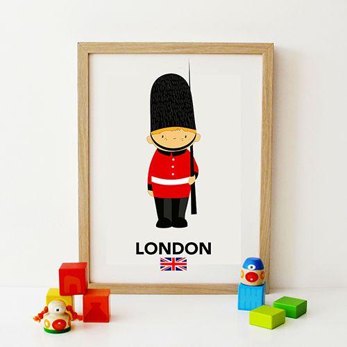Soldadido londinense en www.keeddo.com