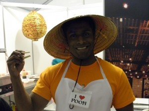 We have the friendliest staff at Monsoon Poon!