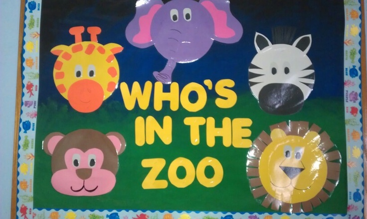 Classroom Zoo Ideas ~ Images about bulletin board on pinterest jungle