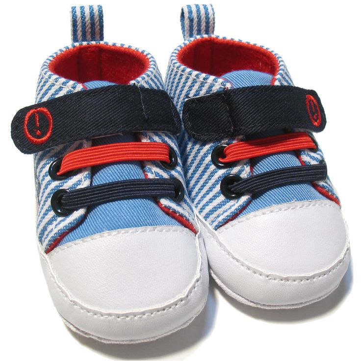 Vauvanvaatteet ja lastenvaatteet - Vauvan kengät, raidat, 0-6kk