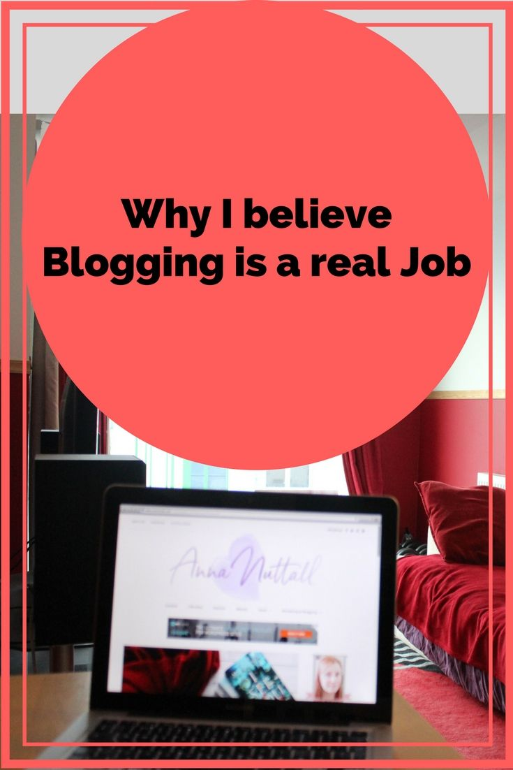 Recently in my personal offline life, there's been talk whether I  really have a job or is this blogging malarkey is a bit of fun and not  really qualified as a proper job. Well, here is why I believe blogging  is a real job.