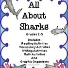 Sharks - Reading Comprehension, Charts, Diagrams, and More  All About Sharks is an integrated study of sharks through reading, writing, and science...