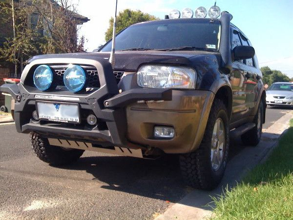 Ford Escape Lift Kit as Sporty SUV Car for Off Road | Best ...