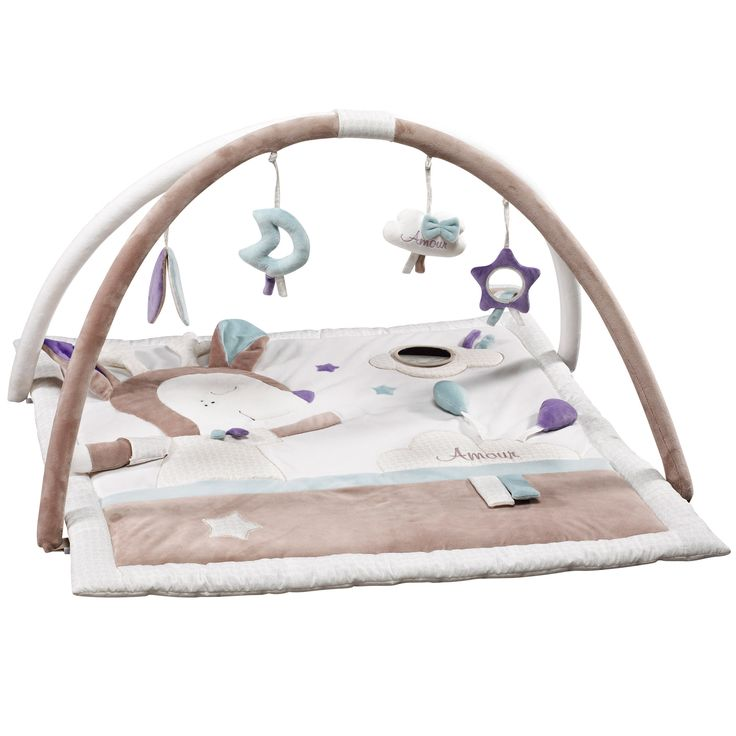 Noisette tapis d'éveil de Sauthon Baby Déco, Tapis d'éveil : Aubert