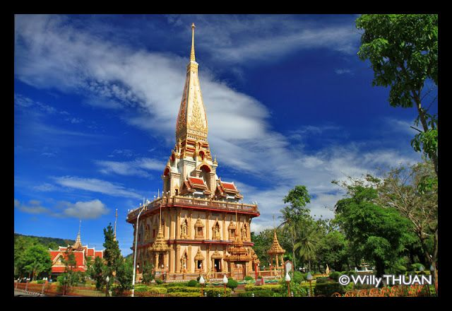 Be sure to visit Wat Chalong, 'the largest and most visited Buddhist temple in Phuket'.